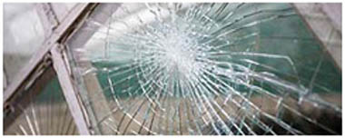 Kirkby In Ashfield Smashed Glass